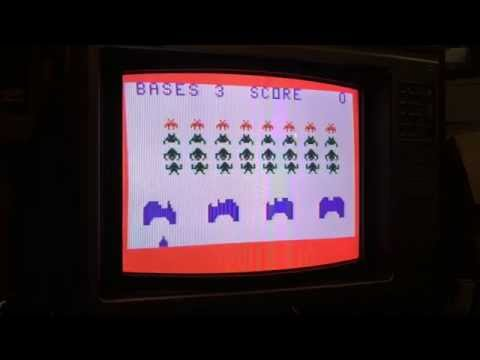 Space Invaders (Demo) for Bally Astrocade