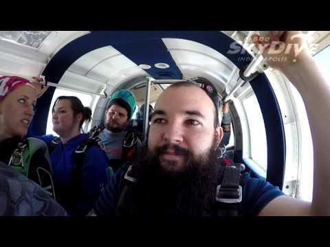 Thomas Sterrett's Tandem skydive!