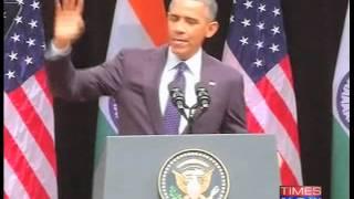 """""""Namaste,"""" says US President Barack Obama - TIMESNOWONLINE"""