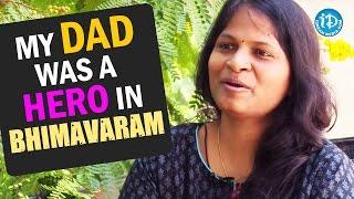 My Dad was a Hero in Bhimavaram - Sasi Kiran Narayana || Talking Movies With iDream - IDREAMMOVIES