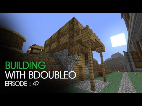 Minecraft Building with BdoubleO Episode 49 The Walk Out