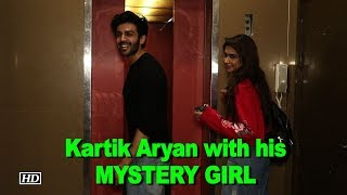 Kartik Aryan with his MYSTERY GIRL on Movie date - BOLLYWOODCOUNTRY