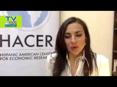TVRadioMiami - Entrevista a Veronica Abad, Directora de Fundacion HACER en Ecuador