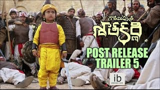 Gautamiputra Satakarni post release trailer 5 - idlebrain.com - IDLEBRAINLIVE