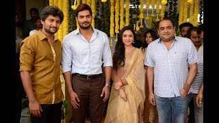 Nani - RX 100 Karthikeya - Vikram K Kumar movie launched | Mythri Movie Makers | Nani 24 Opening - IGTELUGU