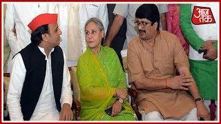 Dinner Dipolomacy In Uttar Pradesh; CM Yogi And Akhilesh Yadav Tries To Move Unhappy MLAs - AAJTAKTV