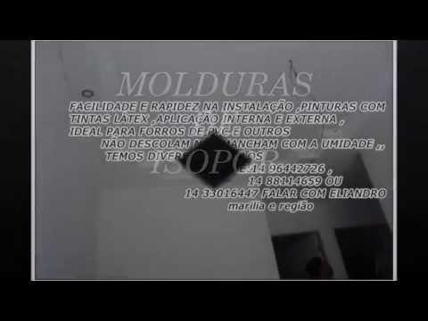 MOLDURAS DE ISOPOR