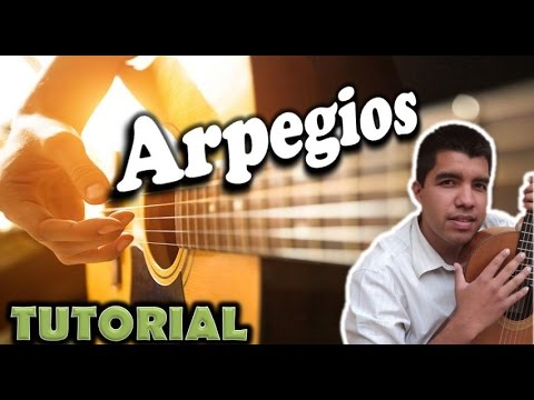 Aprender a tocar la guitarra (Ejercicio de arpegios)- How to play guitar (arpeggios)