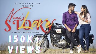 Nani's Lovestory|| latest telugu Shortfilm 2020||Santhosh nani||Dahlia sheriff - YOUTUBE
