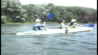 Extreme group Energodar cплавляется по реке