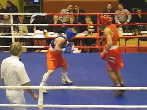 Gutman Eduard VS Petrauskas Evaldas - EUBC boxing - 60 kg - 2 round