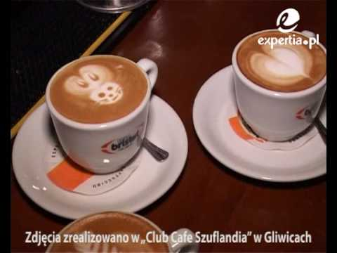 Latte art sztuka malowania w kawie