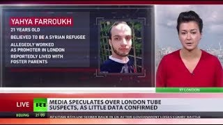 London Tube Attack: Media speculates over blast suspects as little data confirmed - RUSSIATODAY