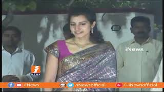 Nara Lokesh and Brahmani celebrate Sankranthi Festival at Naravaripalli | Chittoor | iNews - INEWS