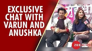 "Zee News Exclusive interview with ""Sui Dhaaga"" stars Anushka Sharma and Varun Dhawan - ZEENEWS"