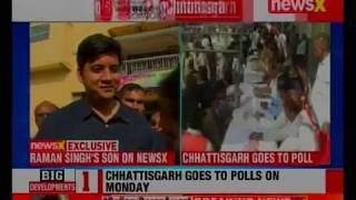 Chhattisgarh Assembly Polls 2018: Battle for Chhattisgarh, all set for first phase - NEWSXLIVE
