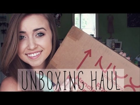 NYX FACE Awards Top 30 + Unboxing Package #1