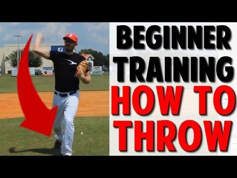 Coaching Beginner Baseball | How to Throw (Pro Speed Baseball)