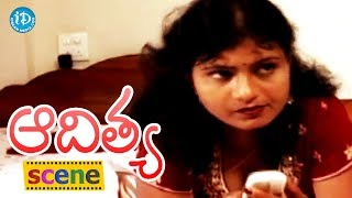 Aditya Movie Scenes - Jagadish Comes To Know About Swetha's Plan || Swapna || Shilpa - IDREAMMOVIES