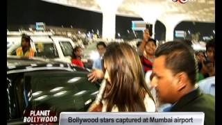 Bollywood Stars Spotted at the Airport