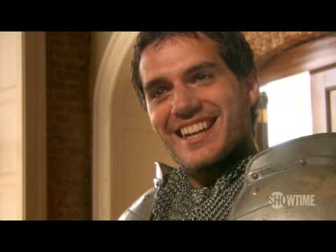 HENRY CAVILL A Sit Down with Henry Cavill The Tudors Season 3