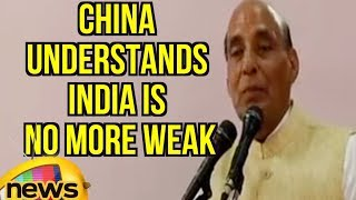 China Understands That India Is No More Weak: Rajnath Singh | Mango News - MANGONEWS