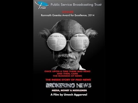 Brokering News - Media, Money and Middlemen