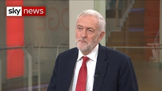 Corbyn says another Brexit referendum is an 'option for the future' - SKYNEWS