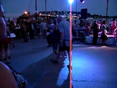 Džuli v akcii s Emem - Latino Festival Rovinj 2