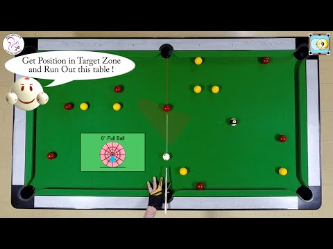 BlackBall Exercise #22 - Run Out 8 Balls Drill 2 - Pool & Billiard Training Lesson