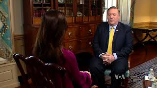 Pompeo: US Won't Send Any Americans to Russia for Questioning - VOAVIDEO