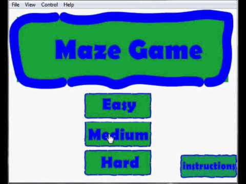 Updated Maze Game V2