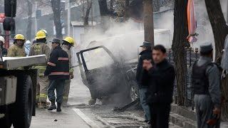 Suicide Bomber Hits NATO Convoy in Kabul - WSJDIGITALNETWORK