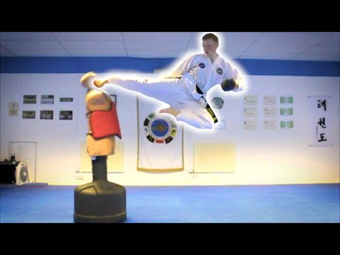 Taekwondo Kicking and Training Sampler on the BOB