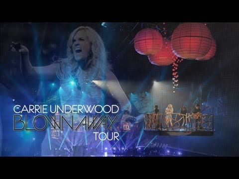 Carrie Underwood Blown Away Tour 2012 & 2013 Promo Advert