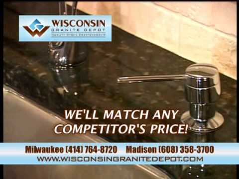 Marble and Granite Countertops-Milwaukee & Madison