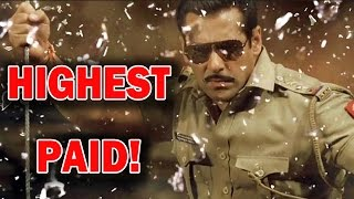 Salman Khan is the highest paid TV host! | Bollywood News