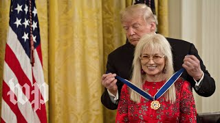 She gave the GOP millions this midterm season. Now she has the Presidential Medal of Freedom. - WASHINGTONPOST
