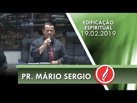 Pr. Mário Sergio | Seja um Miquéias de Deus | Mq 7.7-8 | 19 02 2019