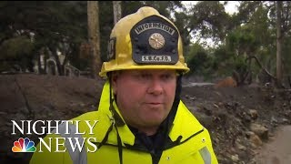 Thousands Of Californians Ordered To Evacuate Ahead Of Powerful Storm | NBC Nightly News - NBCNEWS