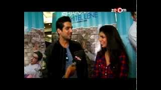 Zayed Khan promotes 'Sharafat Gayi Tel Lene' - EXCLUSIVE