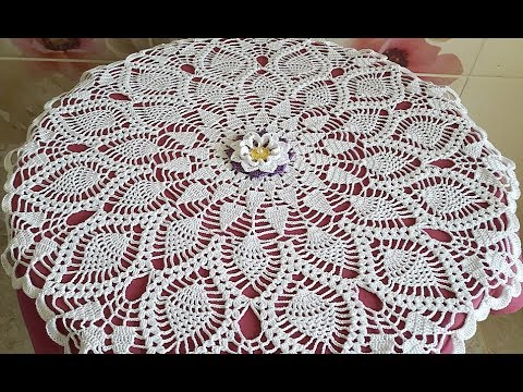 Crochet Doily How to crochet Part 2