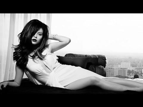 Miranda Cosgrove All Grown Up in Sexy Black & White Photo Shoot