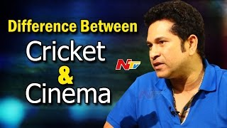 My Life is Real Life Not Reel: Sachin Tendulkar || #SachinABillionDreams || NTV - NTVTELUGUHD