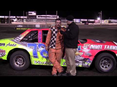 Shannon Anderson - Hobby Stock Feature Winner at Boone Speedway 4/20/13