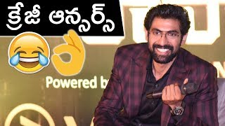 Rana Interaction With Media | Rana Daggubati Pressmeet on No 1 Yaari Season 2 | TFPC - TFPC