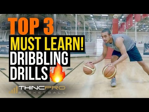 How to: Top 3 Ball Handling Drills You MUST Be Doing To Dribble The Basketball Better!