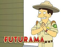 FUTURAMA   Season 5, Episode 12: Bigfoot Safety   SYFY - SYFY
