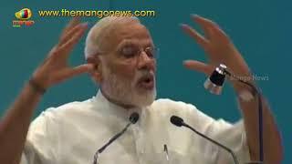 PM Modi Funny Speech On Interviews At Pravas Bharatiya Khendra | Delhi | Mango News - MANGONEWS