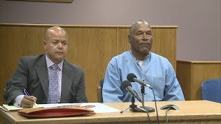 OJ Simpson speaks out about Vegas robbery to parole board | ABC News - ABCNEWS